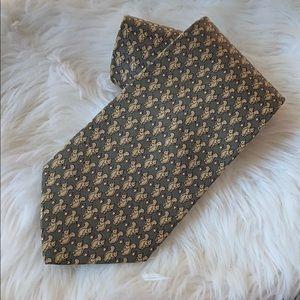 Brooks Brothers silk squirrel & acorn tie.